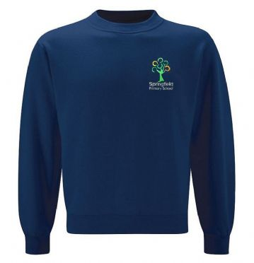 Springfield Primary School Round Neck Sweatshirt